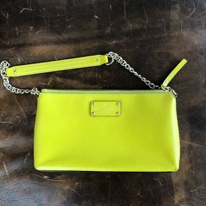 Bright Lemon Lime Green Kate Spade Purse